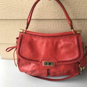 Beautiful Vintage Coach Leather Purse